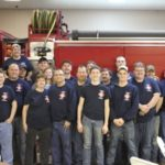 Group picture of fire/rescue members